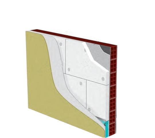 Σύστημα θερμομόνωσης εξωτερικής τοιχοποιίας με διογκωμένη πολυστερίνη