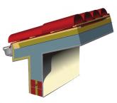 Θερμομόνωση και στεγανοποίηση κεκλιμένης στέγης σκυροδέματος με κεραμίδια – Υδρορροές αλουμινίου