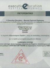 Certificate 13 CQI
