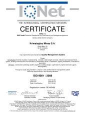 Certificate 3 IQNET EN