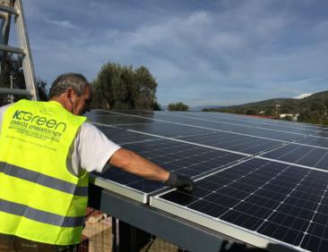 Εγκατάσταση φωτοβολταϊκών συστημάτων – ΚGreencell
