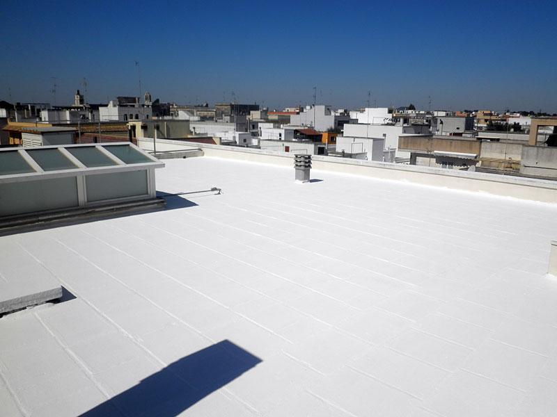 λευκή  οροφή